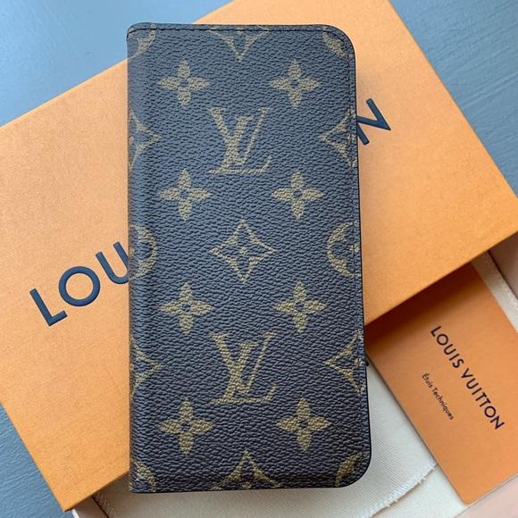 newest 882f3 2c5b5 Louis Vuitton iPhone XS Max Case